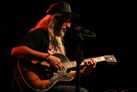 J. Mascis performing at Exit/In in Nashville.  Photo by Max Smith MTSU Sidelines News Editor