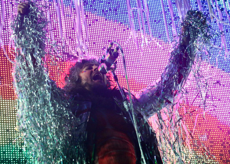 The Flaming Lips perform at Which Stage at the 2014 Bonnaroo Music and Arts Festival on Saturday, June 14, 2014. (MTSU Sidelines/Matt Masters)