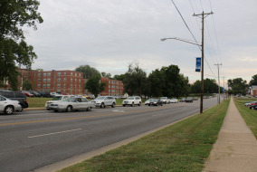 Middle Tennessee Blvd. between Greenland Ave. and Main St. Photo by Max Smith, News Editor, Sidelines