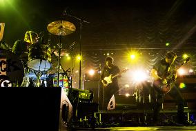 The Black Keys performed in Nashville at Bridgestone Arena as part of their Turn Blue world tour. (Matt Masters/MTSU Sidelines)