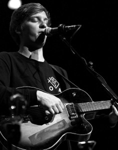 George Ezra performs at the Ryman Auditorium in Nashville, Tenn. on Monday, March 16, 2015. He was opening for Hozier for the second of three sold out shows at the Ryman. (MTSU Sidelines/Brett Turner)