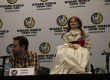 Aaron Sagers and Anabelle doll during Wizarding World Comic Con in Nashville on Friday night.  Photo by Maranda Faris MTSU Sidelines Editor-in-Chief