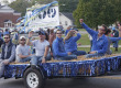 Student organizations debuted floats during Middle Tennessee State University's homecoming parade on Saturday, October 18.  Photo by Greg French MTSU Sidelines Staff Photographer