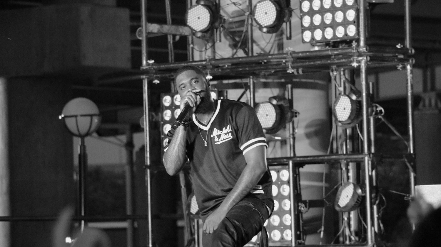 Big K.R.I.T. performs at the Forecastle Festival in Louisville, Ky., on Friday, July 17, 2015. (MTSU Sidelines / John Connor Coulston)