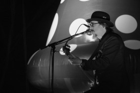 Les Claypool of Primus performs at the Sloss Music & Arts Festival in Birmingham, Ala., on Sunday, July 19, 2015. (MTSU Sidelines / John Connor Coulston)