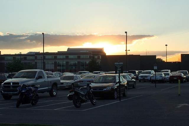 Parking will be different for students next fall with designated lots for on-campus residents. / Photo by Cat Murphy.