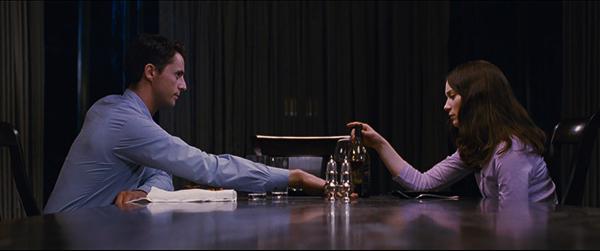 Matthew Goode and Mia Wasikowska in Stoker (2013)