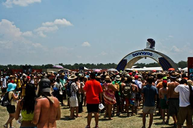 Nearly 80,000 people will converge on Manchester, Tenn., this week for the 13th annual Bonnaroo Music and Arts Festival.(Craig Sanders/MTSU Sidelines).