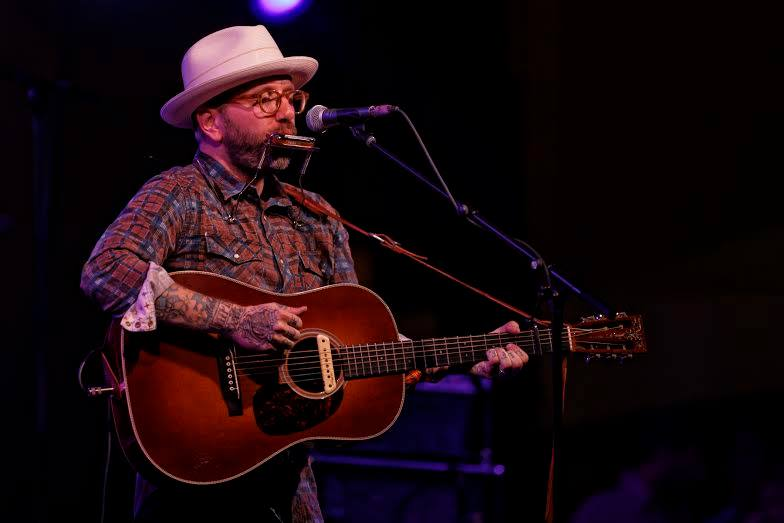 "City and Colour came back to perform ""The Girl"" as their last song. Photo by Gregory French."