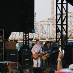 The Replacements perform with Green Day's Billie Joe Armstrong at the Forecastle Festival in Louisville, Kentucky on Sunday, July 20, 2015. (MTSU Sidelines / John Connor Coulston)