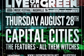 Live on the Green will continue this Thursday, August 28 at Public Square Park in Nashville.  Photo from Live on the Green