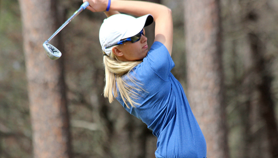 The women's golf team has had one of it's better seasons, and they placed third in the Conference USA tournament. Photo courtesy of MT Athletic Communications.
