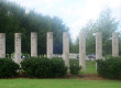 Columns donated to MTSU's Greek Row.  Photo by Max Smith MTSU Sidelines News Editor