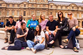 MTSU students traveled to Paris in May to film three documentaries, which will premier on Tuesday at Belcourt Theater in Nashville. Photo by Tom Neff.