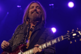Tom Petty during the Tom Petty and the Heartbreaker set on Tuesday night at Bridgestone Arena.