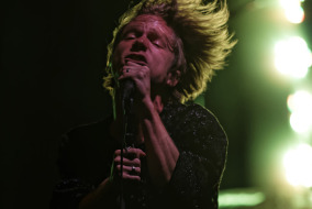 Cage the Elephant at Live on the Green on Thursday night in Nashville.  Photo by Greg French MTSU Sidelines Staff Photographer