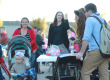 Sororities and fraternities on MTSU's Greek row held a trick or treat event on Thursday, Oct. 30. Photo by Samantha Hearn.