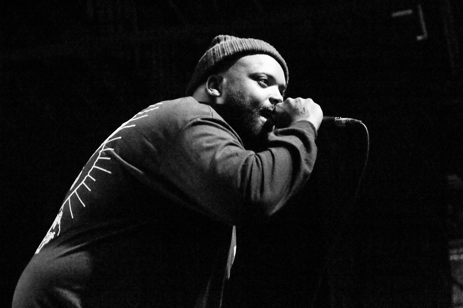 """Rapper Big Henry performs at Marathon Music Works in Nashville, Tenn. on Tuesday, Dec. 21, 2014. Big Henry was opening for Yelawolf on the final stop of his """"Slumerican Made"""" tour. (MTSU Sidelines/Matt Masters)"""