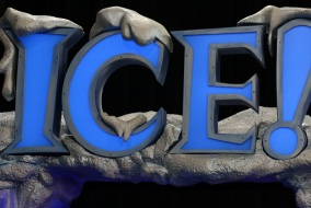 "ICE!™ featuring ""'Twas the Night Before Christmas"" will be open until Jan.3, 2014 at the Gaylord Opryland Events Center in Nashville, Tenn. (John Connor Coulston/MTSU Sidelines)"