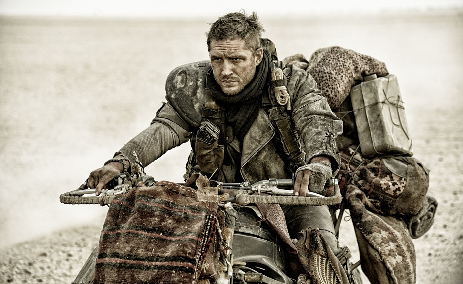 Tom Hardy as Max in Mad Max: Fury Road. The film was the fourth film in the Mad Max series and the first to not feature Mel Gibson in the titular role. (Warner Bros. / FILE)