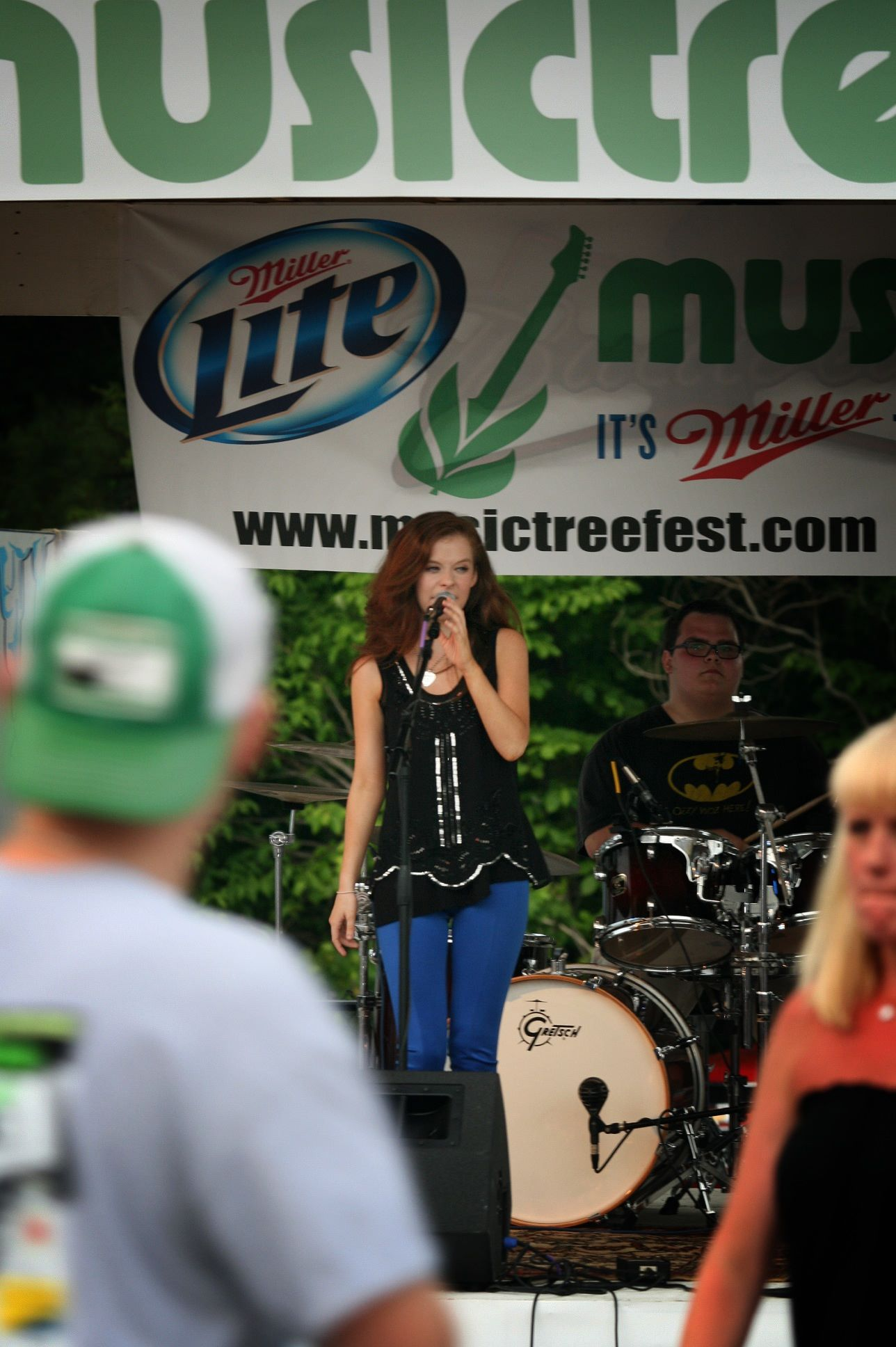 Mira performing at Prater's BBQ in Manchester, Tenn. on June 7, 2015. The performance was a part of MusicTree: A Festival of the Arts. (MTSU Sidelines / Meagan White)