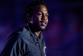 Kendrick Lamar performs at the Bonnaroo Music and Arts Festival in Manchester, Tenn. on Friday, June 12, 2015. (MTSU Seigenthaler News Service / Gregory French)