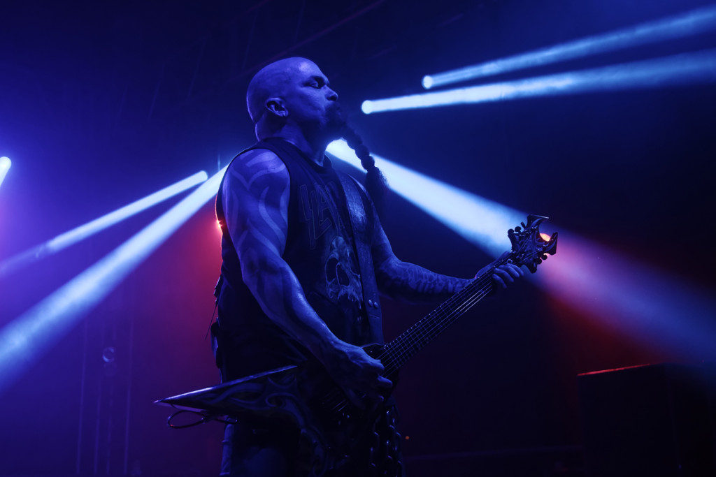 Kerry King of Slayer performs at the Bonnaroo Music and Arts Festival in Manchester, Tenn. on Saturday, June 13, 2015. (MTSU Seigenthaler News Service / Gregory French)