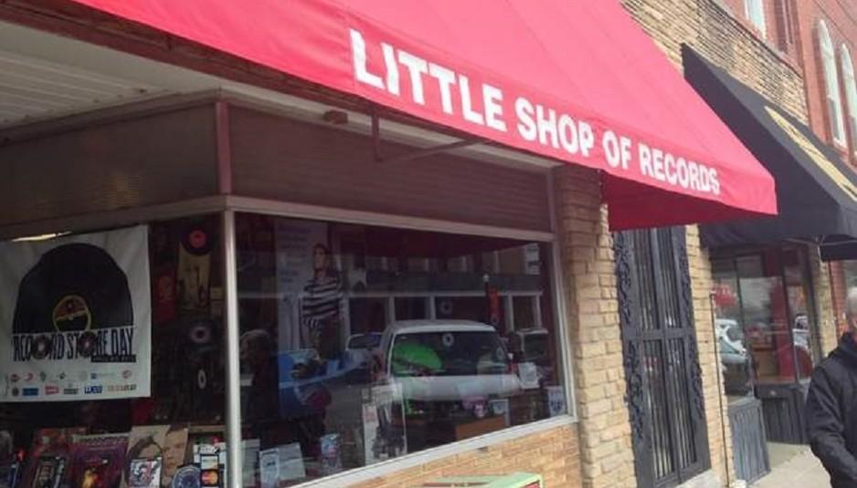 The exterior Little Shop of Records in Murfreesboro, Tenn. (MTSU Sidelines / John Connor Coulston)