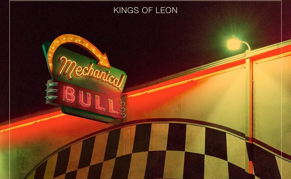 "The album artwork for Kings of Leon's ""Mechanical Bull"" (FILE)"