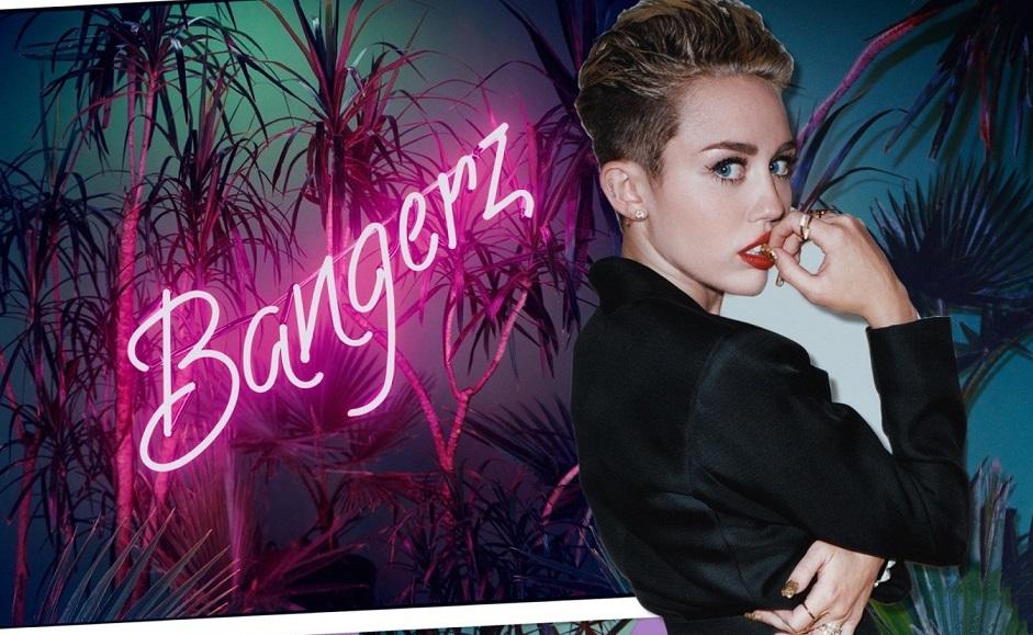 "The album artwork for Miley Cyrus' ""Bangerz"" (FILE)"