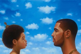 "The album artwork for the standard and deluxe edition of Drakes album, ""Nothing Was the Same."" (FILE)"
