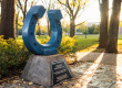 MTSU Horseshoe Stock Image