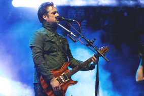 Modest Mouse performed on Friday, October 30, 2015 at the 17th Annual Voodoo Music and Arts Festival in New Orleans, LA (MTSU Sidelines/Meagan White).