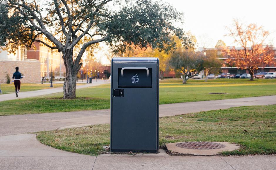MTSU Solar Trash Compactor