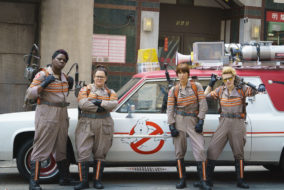 "Leslie Jones, Melissa McCarthy, Kate McKinnon and Kristen Wiig star in the 2016 ""Ghostbusters"" reboot. (MTSU Sidelines / Columbia Pictures)"