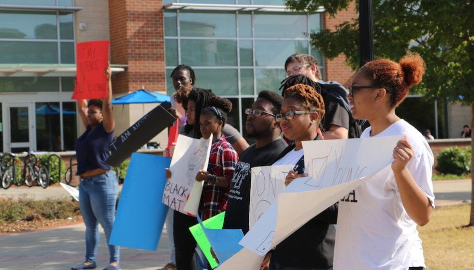 Black Lives Matter demonstration