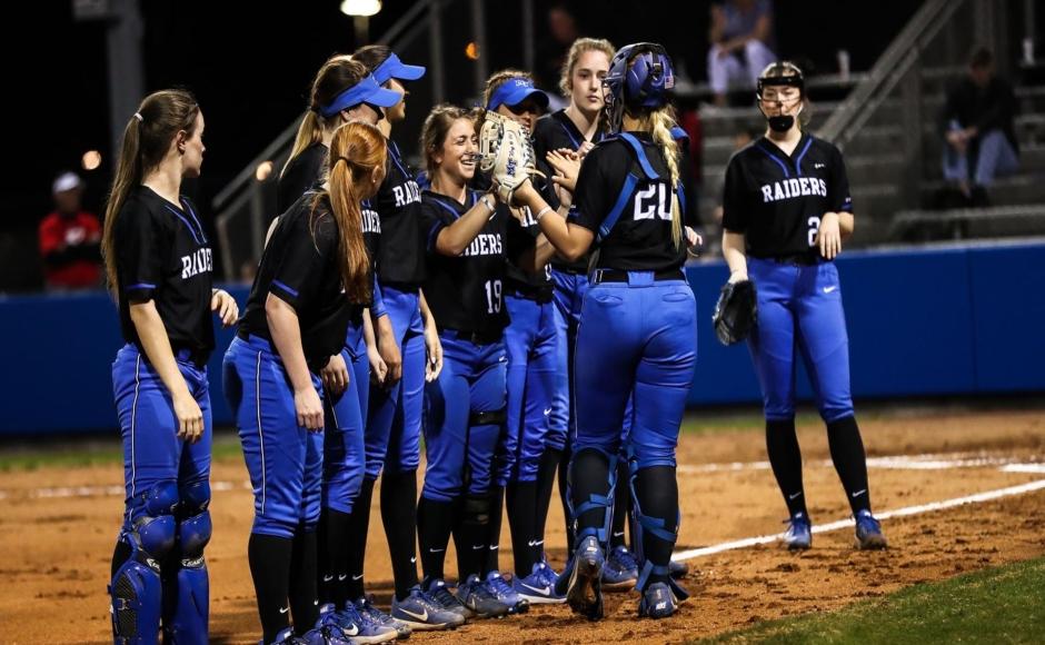 Softball: Kirstyn Cuccia's hot streak continues, leads Blue